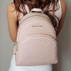 NWT Michael Kors MD Abbey backpack Ballet pink bag